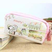 韩国文具盒可爱创意小清新简约女生铅笔袋超大容量笔袋帆布文具袋