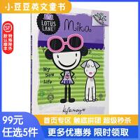 进口原版Lotus Lane#3 Mika:My New Life 米卡:我的新生活 [7~10岁]
