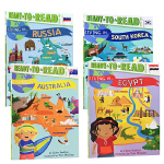 英文原版 Ready to Read分级读物Level2 Living in Australia 4册地理 历史民俗文