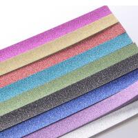纯色闪钻金粉图案款星星折纸 diy儿童手工折纸材料星星条 幸运星纸许愿星条