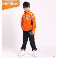 新款童装运动套装 青少年运动套装中大童男童长袖两件套 可礼品卡支付