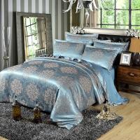 欧式全棉四件套床上用品1.8米纯棉提花四件套