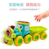 儿童玩具车惯性火车小汽车男孩大号工程车越野车手推车小孩模型车