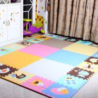 儿童纯色62*62加大加厚拼接爬行垫环保拼图地垫卧室爬爬垫地垫