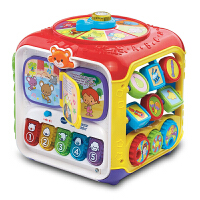【跨店2件5折】VTech伟易达趣味智立方 游戏桌六面盒宝宝学习桌益智早教玩具台