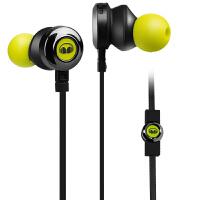 MONSTER/魔声 CLARITY HD 灵晰入耳式有线魔声耳机重低音手机耳塞耳机 - 荧光绿
