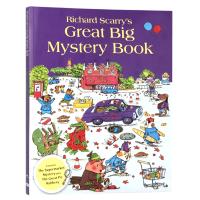 正版 迷迷糊糊的侦探 英文原版绘本 Richard Scarry's Great Big Mystery Book 斯凯