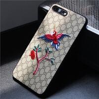 iPhone6s手机壳苹果6plus保护套A1586刺绣A1524外壳子4.7寸A1549/A158