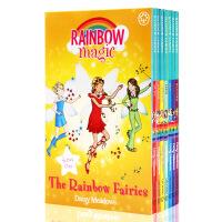 英文原版小说Rainbow Magic series 1彩虹魔法仙子章节书系列1 儿童课外兴趣阅读