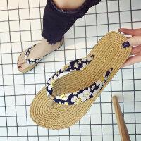 沙滩拖鞋女外穿时尚百搭夏季网红外出2019新款凉拖海边ins人字拖