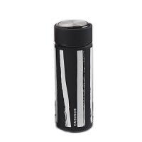 【当当自营】铂盛黑白条纹保温杯310ml-黑色
