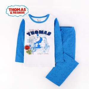 【每满100减50】托马斯正版童装男童秋装家居服套装男宝宝卡通内衣中小童儿童睡衣