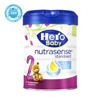 保税区直发 荷兰Hero Baby美素白金版奶粉2段 800g