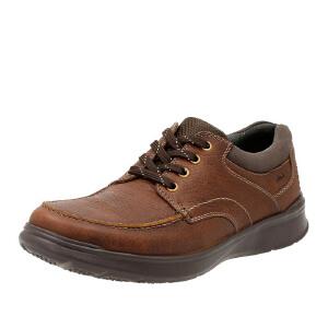 【香港现货】Clarks/其乐男鞋2017秋冬新款真皮商务休闲鞋Cotrell Edge专柜正品直邮