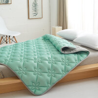 乳�z床�|��|床褥加厚床�o�|薄�|�p人1.8m床可水洗折�B