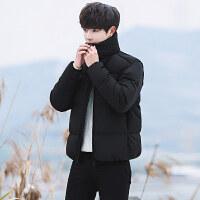 白鸭绒羽绒服男士短款冬季韩版新款修身加厚宽松外套青年服装潮流