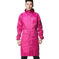长款连体雨衣风衣成人男女电动车骑行户外徒步膝盖防雨布