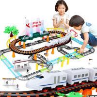 儿童玩具3-6周岁7男孩子生日礼物电动轨道车高铁火车动车