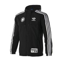 Adidas阿迪达斯 男装 三叶草运动休闲夹克外套 CF5076 现