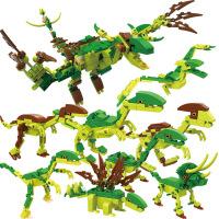 侏罗纪公园世界 cogo积高积木玩具拼装拼插 男孩儿童玩具恐龙模型