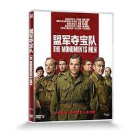 正版 盟军夺宝队 盒装DVD D9 含花絮 The Monuments Men