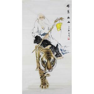 活画泰斗 国礼艺术家吴增 老翁出山  夜显财神