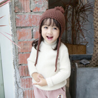 女童针织衫上衣儿童打底衫秋冬毛衣