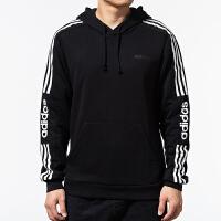 Adidas阿迪达斯男装NEO运动卫衣休闲连帽套头衫EI4673