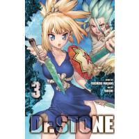 现货 石纪元 新石纪 第 3卷 英文原版 漫画 Dr. STONE, Vol. 3稻垣理一郎原作 Boichi作画