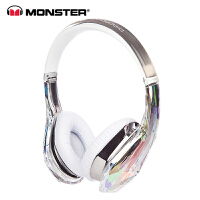 MONSTER/魔声 钻石之泪DiamondZ头戴式魔音耳机直播耳机带麦主播