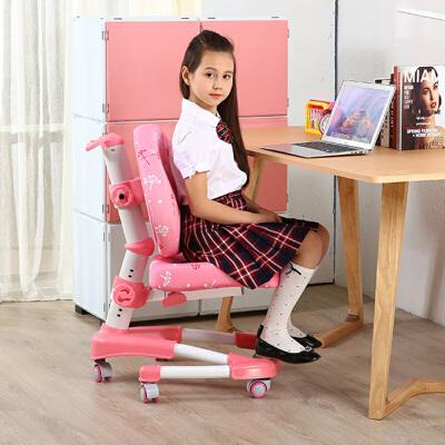 御目 学习椅 家用儿童椅小学生矫姿椅靠背非气压可升降椅子电脑椅写字椅满额减限时抢礼品卡儿童用品单品包邮 店铺支持礼品卡支付