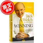 现货 赢 韦尔奇一生的管理智慧 平装 英文原版 杰克・韦尔奇 通用电气 经营管理 Winning: The Ultim