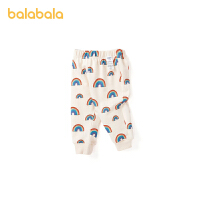 巴拉巴拉儿童裤子女童打底裤外穿2021新款洋气满印休闲裤萌趣百搭春秋