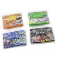 凯达可丽 3121密码锁硬纸板质卡片盒 韩版皇冠型密码文具盒 男孩款式*