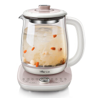 小熊(Bear)养生壶 全自动多功能1.8L燕窝壶加厚玻璃煮茶器 电水壶电热水壶花茶壶煮茶壶 YSH-C18S2