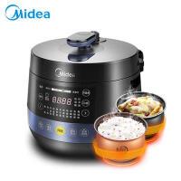 Midea/美的 电压力锅 圆灶釜内胆 可开盖煮 双胆 高压锅 压力锅 电高压饭煲 MY-YL50Easy202