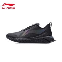 李宁跑步鞋官方新款男鞋冬季黑色轻便回弹跑鞋男士鞋子低帮运动鞋