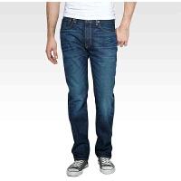 Levi's/李维斯牛仔裤 经典501直筒裤青年男士水洗牛仔裤