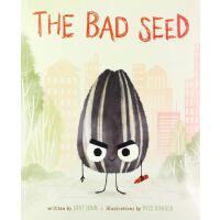 精装 英文原版 坏种子 Jory John & Pete Oswald 绘本 The Bad Seed 趣味故事绘本