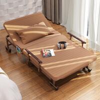 加固折叠床便携单人午休双人陪护行军办公室午睡简易用1.2米