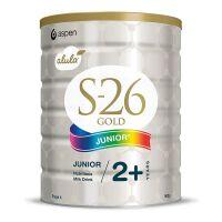 新西兰S26惠氏金装新生婴儿牛奶粉4段 2岁以上宝宝900g