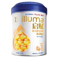 惠氏启赋婴儿配方奶粉 1(适用于0-12个月婴儿)  900g/罐  品质之选! 让宝宝喝上健康的奶粉