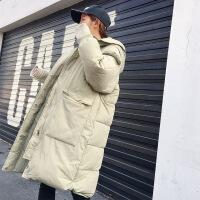 反季女中长款韩版棉袄ins面包服过膝宽松bf羽绒棉衣学生外套
