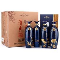 汾酒 52度清香瑰宝(梅兰竹菊)475ml*4 清香型白酒