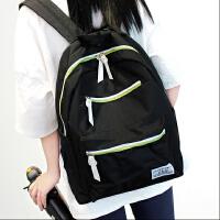 新款双肩包女韩版潮学院风高中学生书包初中生小清新背包男旅行包