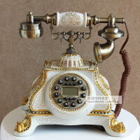 新款丽盛创意欧式复古电话有绳电话座式仿古工艺电话固定家用座机 TL0226WS