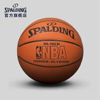 斯伯丁篮球官方正品耐磨室外nba7号水泥地比赛专用非真皮牛皮74-600Y