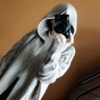 �秋冬女毛衣�B帽���_衫�L款大衣��衫外套披肩�L袖中�L款