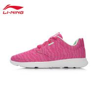 李宁女子灵动跑鞋编织网面轻便女跑步鞋夏季透气运动鞋ARJL014-2