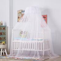 甜梦莱儿童蚊帐加密婴儿床蚊帐落地带支架通用新生儿童开门式蚊帐